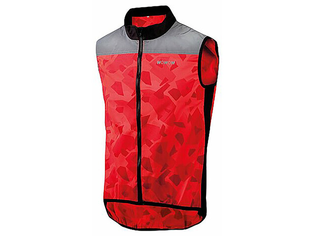 Wowow Rysy Safety Vest fluorescent red